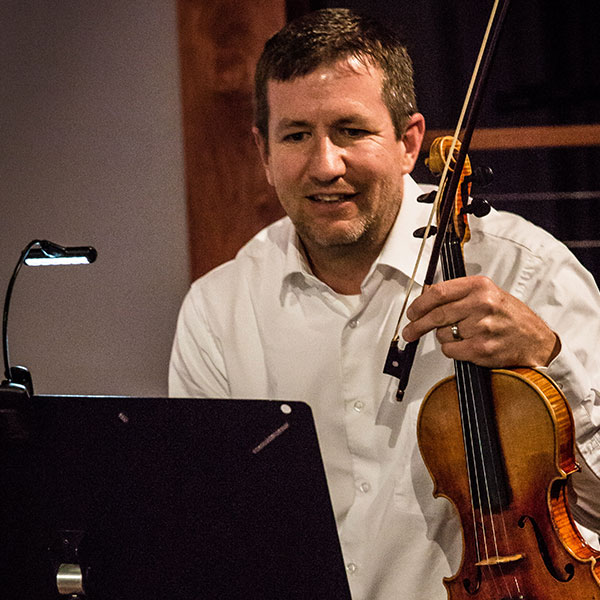 Jerry Loughney, violin