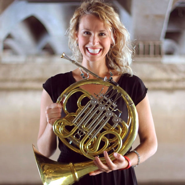 Kelly Langenberg, french horn